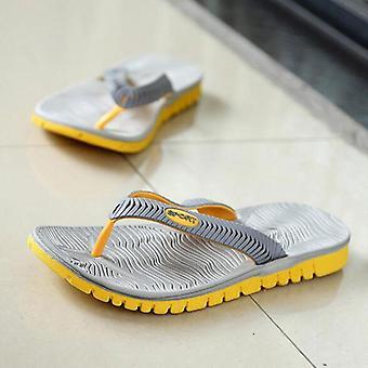 Summer Flip Flops Mixed Color Slippers Casual Pvc Eva Shoes Beach Sandals