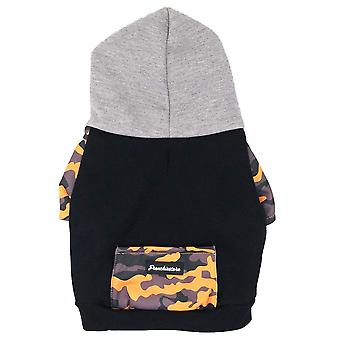 French Bulldog Hoodie | Frenchie Clothing | Mustard Ultimate Camo