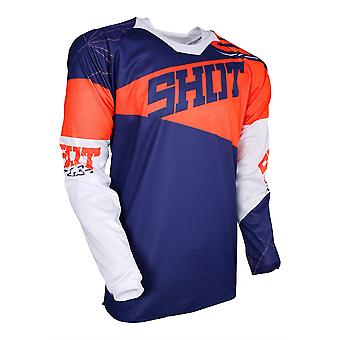 Shot Contact Infinite Orange Adults MX Jersey
