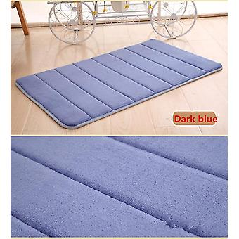 1pc 40x60cm Home Bathroom Carpet Soft Washable Rug Mat Kitchen Toilet Floor
