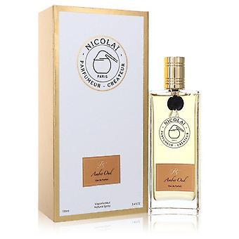 Nicolai amber oud eau de parfum spray by nicolai 554337 100 ml