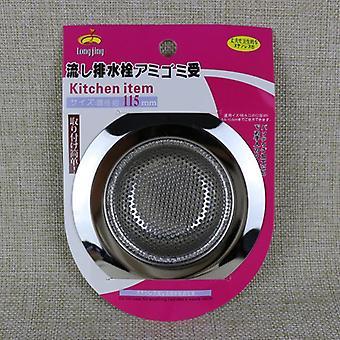 Stainless Steel Bathtub Hair Catcher Stopper Kitchen Sink Filter Strainer