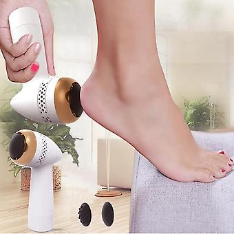 Portable electric foot files vacuum pedicure tools dead skin callus remover usb foot grinde absorbing machine foot care tools