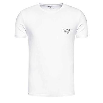 Emporio Armani Lounge Crew Neck T-Shirt - White