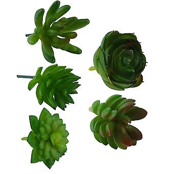 Artificial Plastic Miniature Succulent Décor Plants