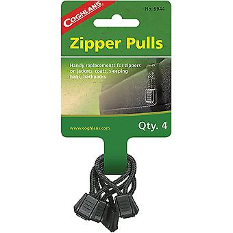 Coghlan's Zipper Pulls (4 Pakkaus), Takit, Takit, Makuupussit