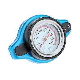 Couvercle universel de bouchon de radiateur thermo thermostatique avec jauge de température de l'eau