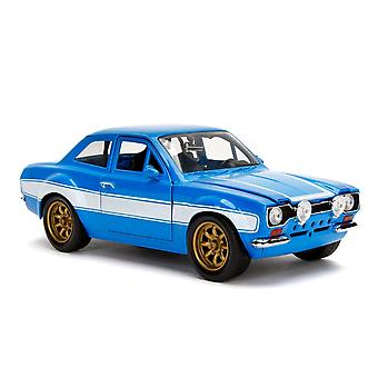 F&F Ford Escort RS2000 MK1 1:24 Scale Hollywood Ride