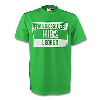 Franck Sauzee Hibs Legend Tee (grön)