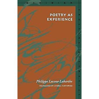 Poesi som erfarenhet av Philippe LacoueLabarthe
