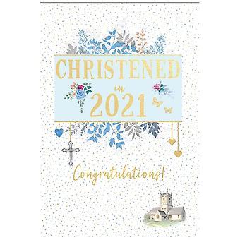 ICG Ltd Christened In 2021 Boy Card