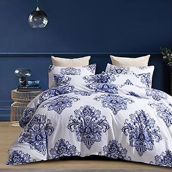 Mimigo Printed Quilt Cover Comforter Set Twin 3 Piece Bed Sets – Ultra Soft Microfiber Bedding For Bedroom Twin/queen/king Size Quilt Set With Pillo