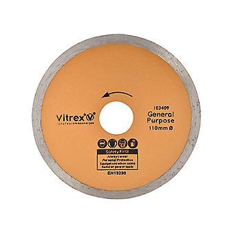 Vitrex Diamond Blade Standard 110mm VIT103409