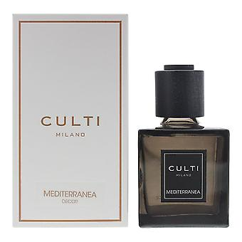 Culti Milano Decor Diffuser 250ml Mediterranea - Sticks Not Included In The Box