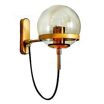 Modern LED Indoor Decoration Wall Lights(Golden)