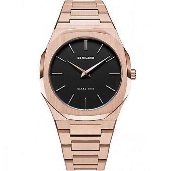 Watch D1 Milano ULTRA THIN Quartz - Pink dial - 34 mm - UTBL06