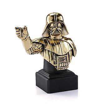 Darth Vader Bust Gold - Limited Edition Royal Selangor