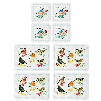 English Tableware Co. Garden Birds Placemats and Coasters