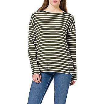 edc by Esprit 021CC1K312 T-Shirt, 350/kaki Green, XS Woman