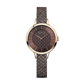 ステンレススチールストラップ付きBERINGアナログ時計クォーツウーマン 17831-265