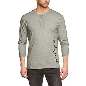 CMP , Men's long-sleeved shirt, Beige (Almond), 50, Beige (Almond), 50
