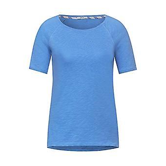Cecil 316024 T-Shirt, Provence Blue, L Donna