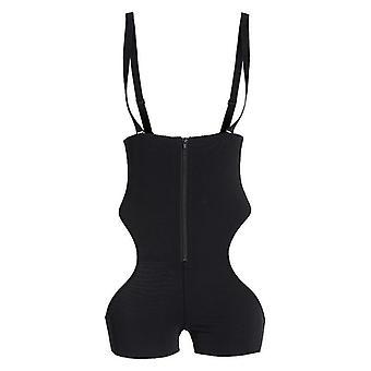 Body Shapewear Butt Lifter Sexig String Bodysuit Mage-Kontroll Strapless Trosor