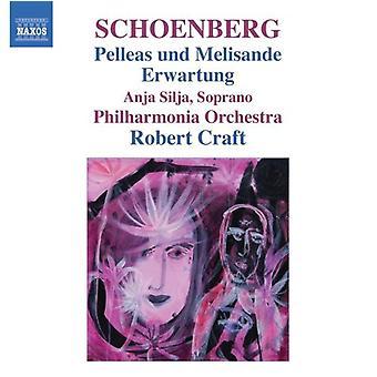 A. Schönberg - Arnold Schönberg: Pelleas Und Melisande; Erwartung [CD] USA import