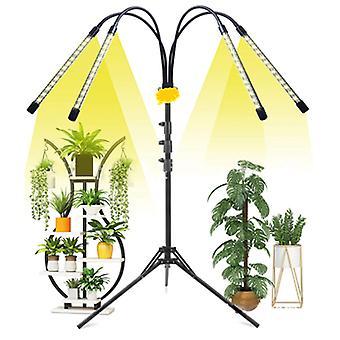 Full Spectrum Home Plant Groei licht 4heads