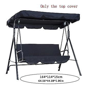 Para garden courtyard swing sunshade teto balanço teto cobrir poliéster outdoor swing teto capa WS23184