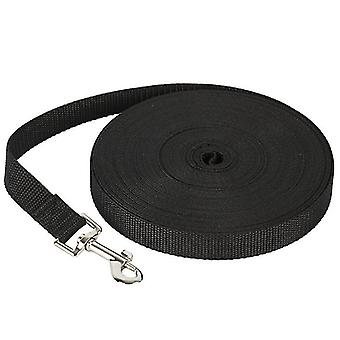 12M * 2cm أسود 50m الكلب الحيوانات الأليفة المقود ، في الهواء الطلق تتبع المقود للكبير az330 ال