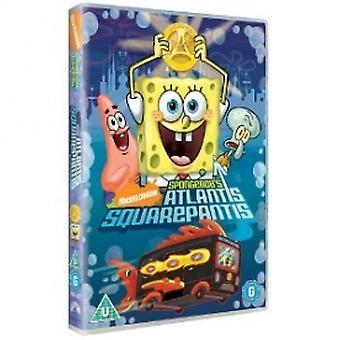 Spongebob Squarepants Atlantis Squarepantis DVD