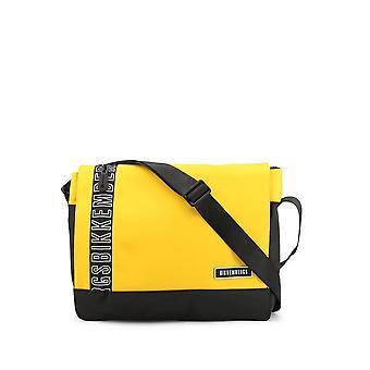 Bikkembergs - Bags - Briefcases - E2APME170052030-Yellow - Men - yellow,black