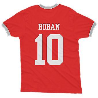 Zvonimir boban 10 croatia country ringer t-shirt