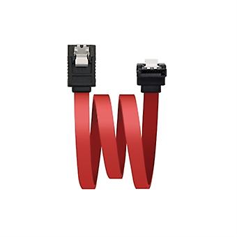 Cable SATA NANOCABLE 10.18.0301 0,5 m 3 Gbps Rojo
