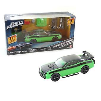 Rápido y Furioso 2011 Dodge Challenger SRT8 Kit 3 en 1 Mattel FCG50