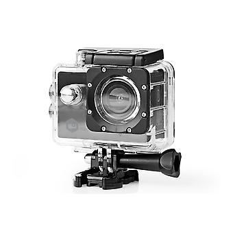 Nedis Action Cam Full HD 1080p WiFi vodotesné puzdro a full montážne súpravy