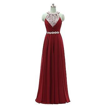 Hivatalos koszorúslány ruha Női Halter Esküvői Ruha ( Set 1)