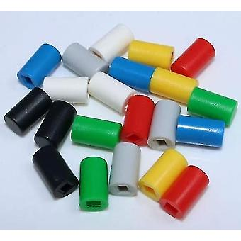 new yellow x 10pcs small switch button cap a04 can match button switch sm41994