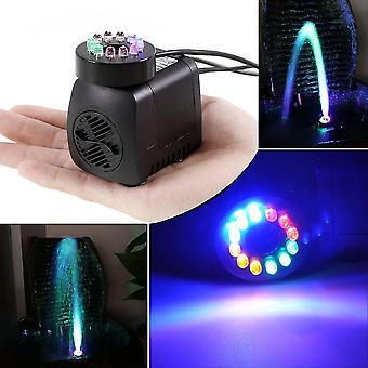 Merülő szivattyú 12 színes LED-es fény akvárium szökőkút hidroponika
