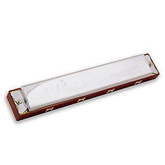 24 Löcher Mundharmonika Taste von C Mundharmonika Instrument für Anfänger