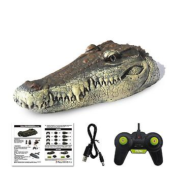 Rc Boot 2.4g, Simulatie Krokodillenkop - Rc Afstandsbediening Elektrisch Racing Toy
