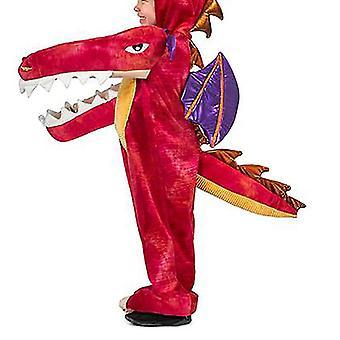 Δεινόσαυρος ζώο κινούμενα σχέδια ένα κομμάτι Πιτζάμες Σκηνή Απόδοση Κοστούμι (Style4)