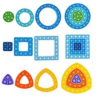 Lohill Family Toys Adult Sensory Fidget Toys Kit Stress Relief Toys Set Xmas Creative Gift Triangle
