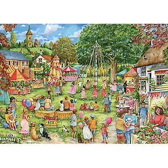 Otter House Village Fete Jigsaw Puzzle (1000 Pieces)