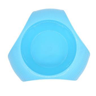 Élelmiszer-tál kutya / macska műanyag Kék