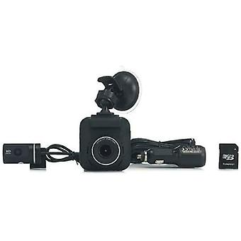 RAC 235D Dash Cam Dual Camera Full HD Wi-Fi GPS Microphone Speaker 8GB