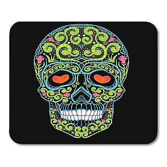 (300X250X3) Yanteng Mouse Pads Mouse Pads Mexican Day Skull Dead Candy Mexico Spooky Sugar