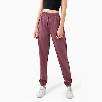 Women Yoga Training Pants Exercise Fitness High Waist Sports Trousers