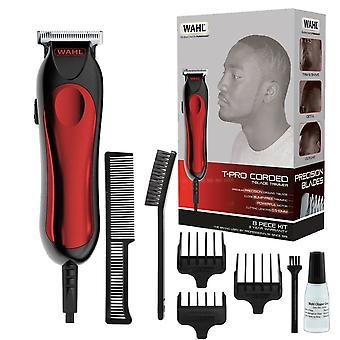 Wahl 9307-5317 T-Pro Corded Hair Clipper Trimmer Détaillant décrivant le rasage